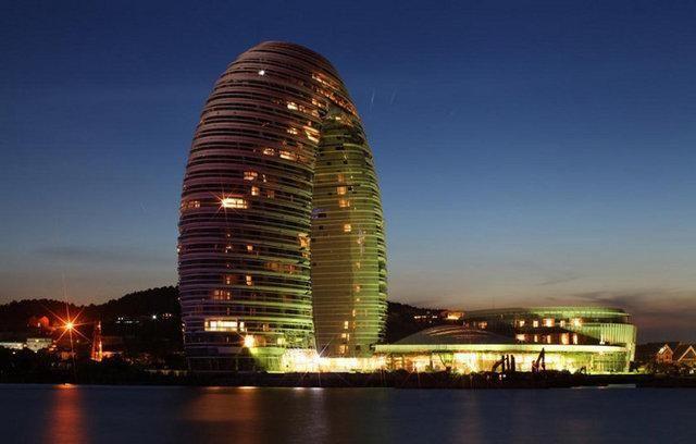 Çin'deki binalar ilgi çekti