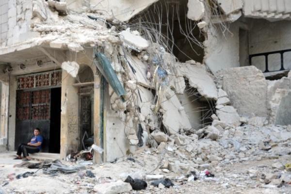 Savaşın acı yüzü, Suriye'de hayat