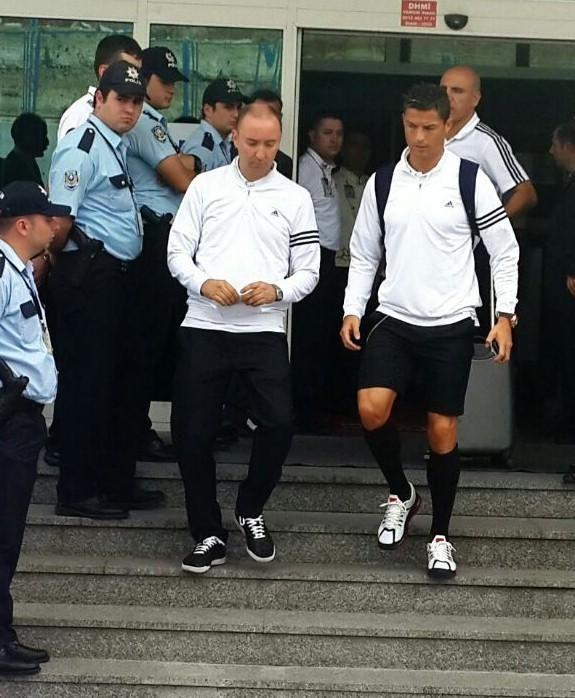 Real Madrid İstanbul'da