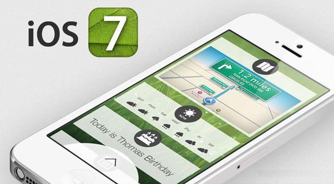 iOS 7 hakkında herşey