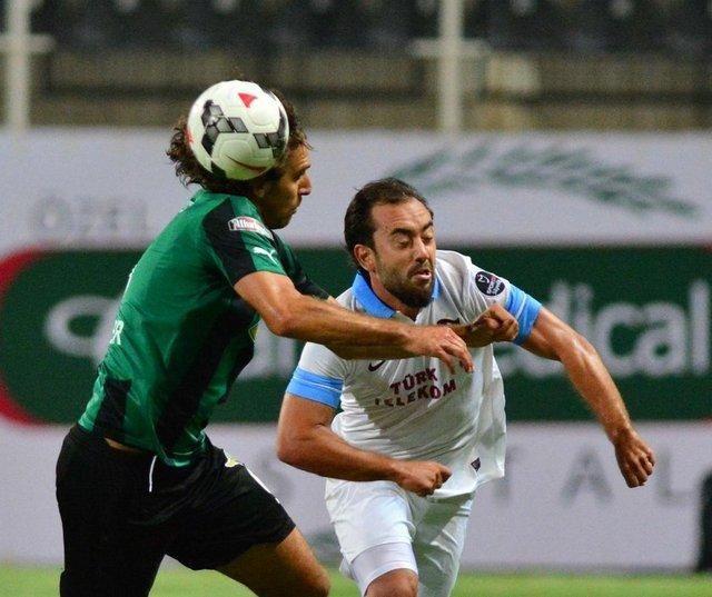 Akhisar Belediyespor- Trabzonspor maçından kareler