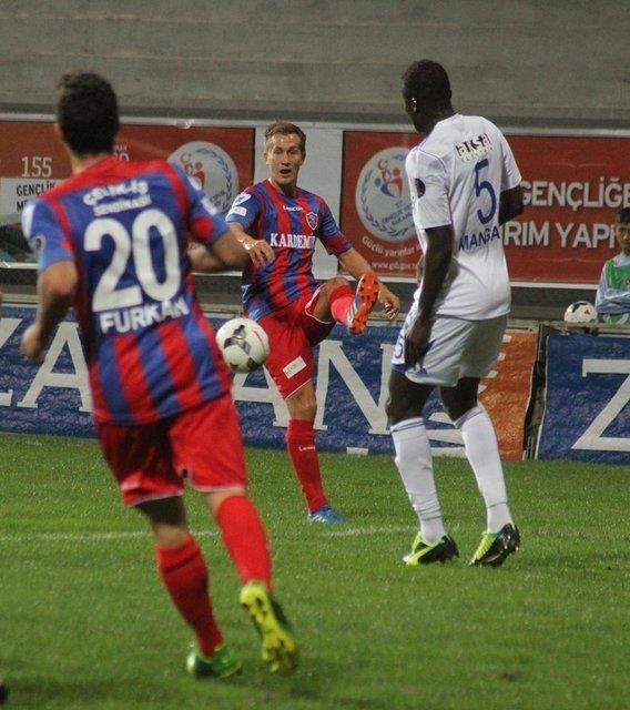 Karabükspor - Kayseri Erciyesspor maçından kareler