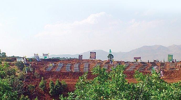 PKK'nın sözde şehit mezarlığı oyunu bozuldu