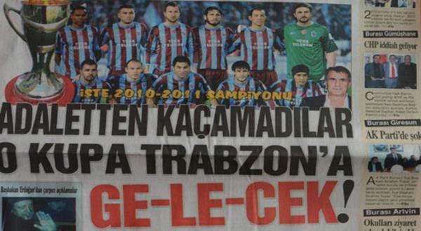 İşte Trabzon'da yerel gazete manşetleri