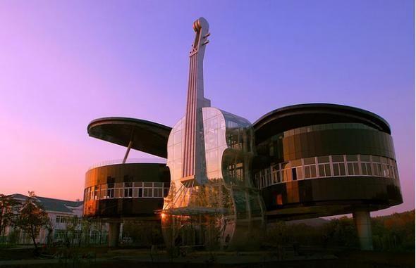 İşte dünyanın en ilginç yapıları
