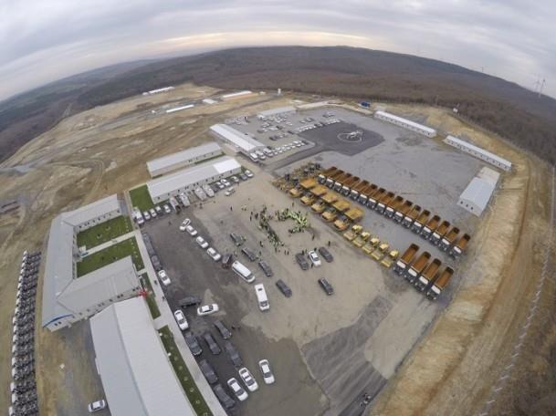 3. Havalimanı inşaat alanında çalışmalar devam ediyor