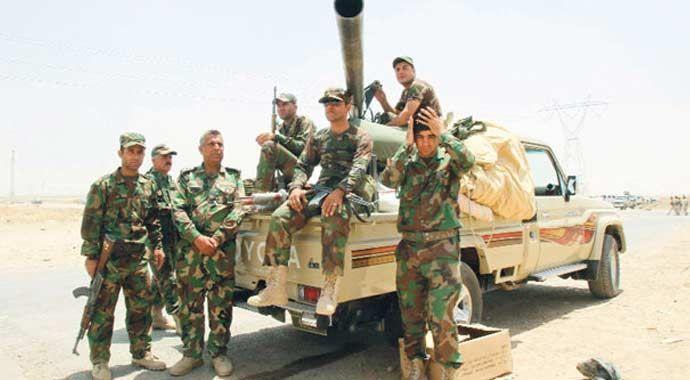 Irak'taki 'sorunlu bölgeler' Peşmerge'nin elinde