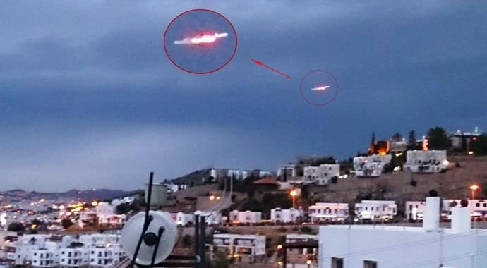 Bodrum'da UFO ihbarlarında rekor artış
