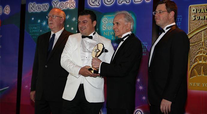 Crt Group'a dünyanın en büyük kalite ödülü!..