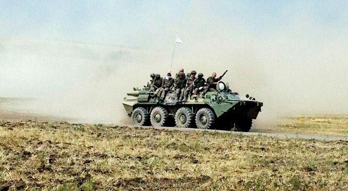 Ayrılıkçılar, Rus askerleriyle bir kasabayı ele geçirdi
