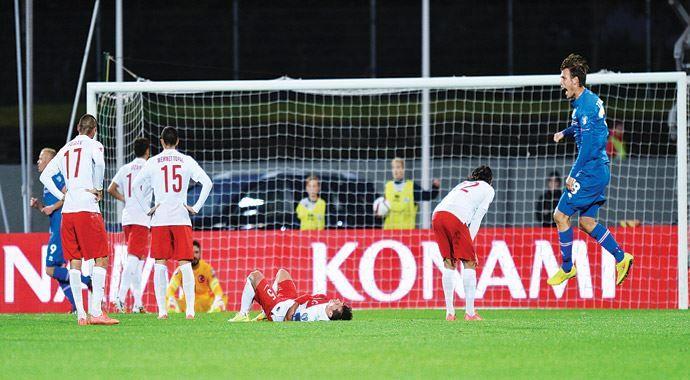 Milli felaket! Türkiye 0 - 3 İzlanda maçı geniş özeti