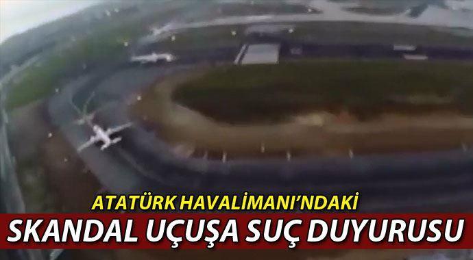 Atatürk Havalimanı'ndaki skandal uçuşa suç duyurusu