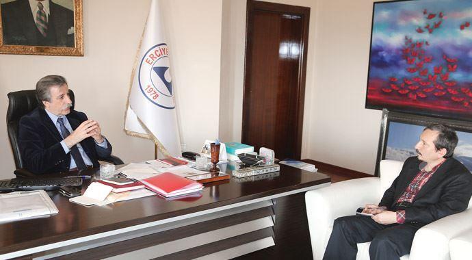 Erciyes Üniversitesi Rektörü Prof. Dr. Hasan Fahrettin Keleştemur: Asıl meselemiz bilim