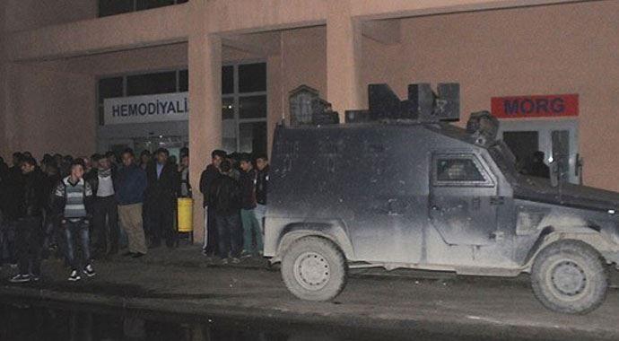 Cizre'de izinsiz gösteri: 1 ölü