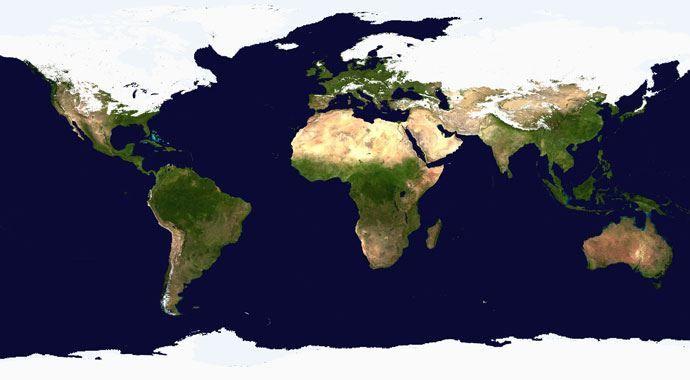 Dünya haritası yeniden çizilecek 73