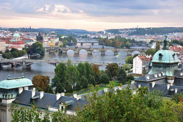 Prag'da sonbahar
