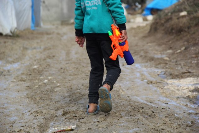 İdlib'teki çadır kentler yaşanmaz hale geldi