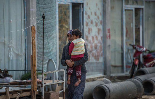 'Fıstık hali' sığınmacıların barınağı oldu