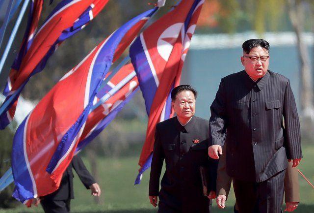 Kuzey Kore'den şaşırtan kareler