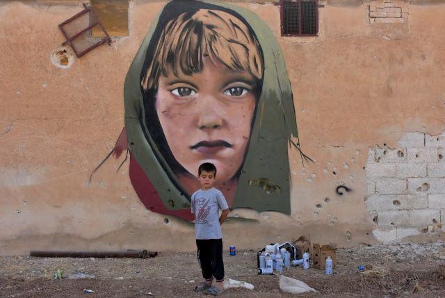 Suriye'de anlamlı çizimler