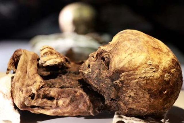 Aksaray'da bulunan 8 mumya ziyaretçilerini bekliyor
