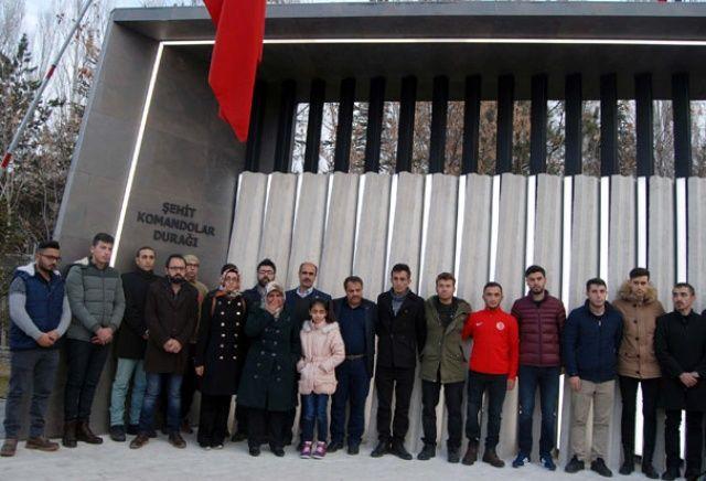 Kayseri'de geçen yıl şehit edilen 15 komando anıldı