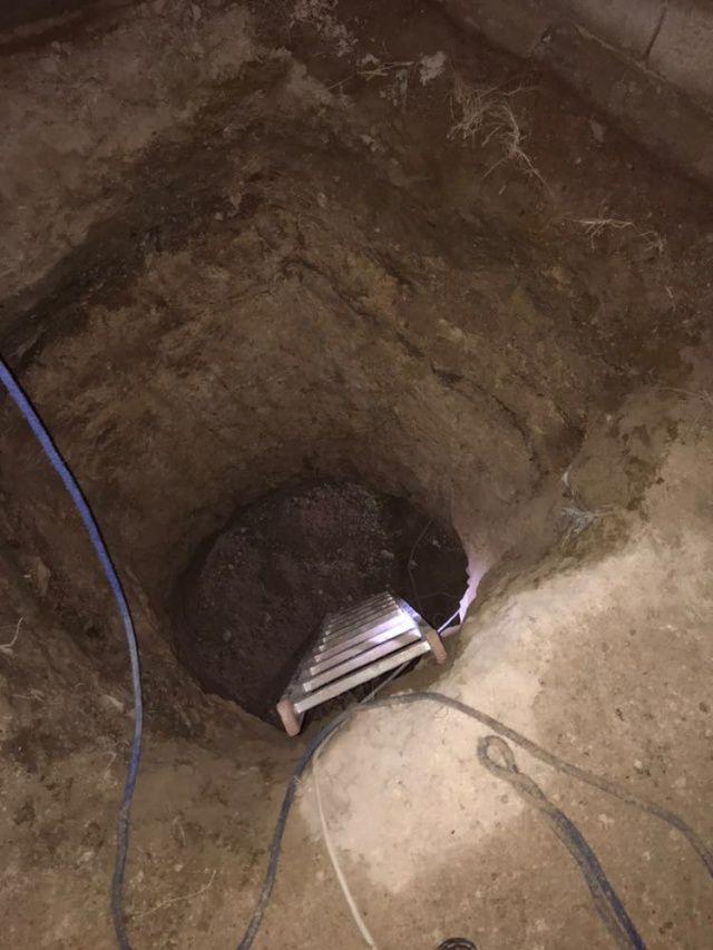 Define aramak için evinin altında 25 metre tünel kazdı!