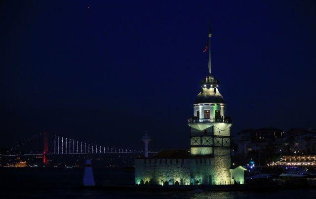 İstanbul'da gün batımı böyle görüntülendi