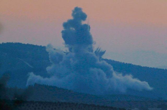 Dünya Afrin operasyonunu bu fotoğraflarla gördü