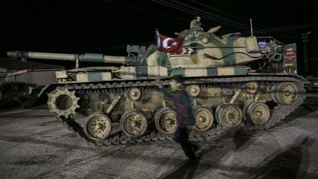 İngilizler 'Zeytin Dalı'nı böyle gördü: Türkiye, ABD'ye meydan okuyor