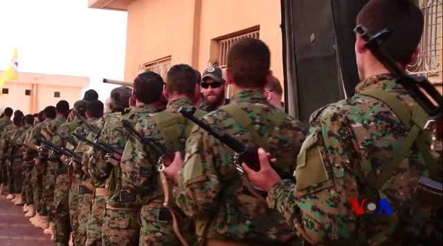 İşte YPG kampındaki Amerikan askerleri
