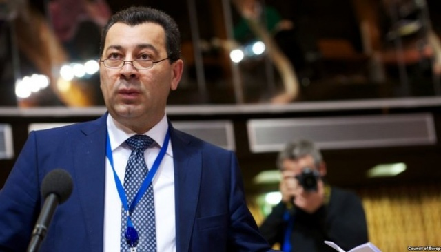 Azerbaycanlı vekilden AKPM'de Zeytin Dalı çıkışı