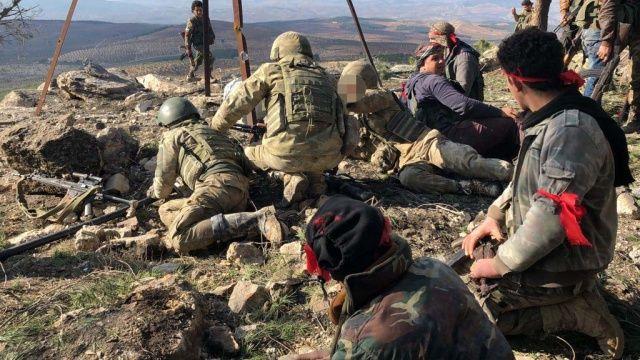 Burseya Dağı teröristlere mezar oldu