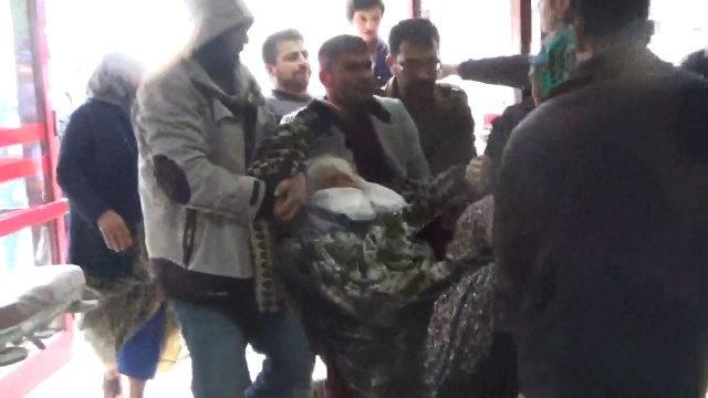 Fotoğraflar Şanlıurfa'dan, ölü ve çok sayıda yaralı var