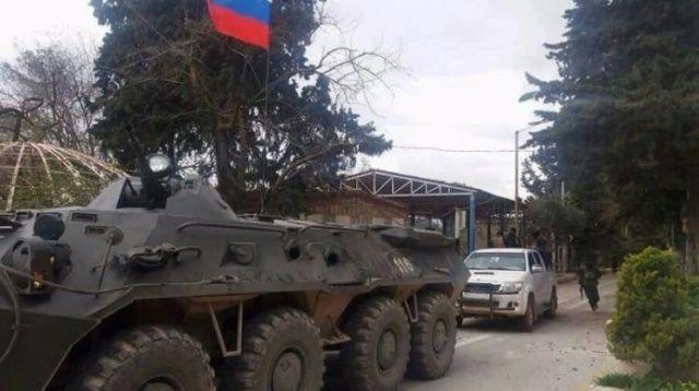 Rusya Afrin'e girdi