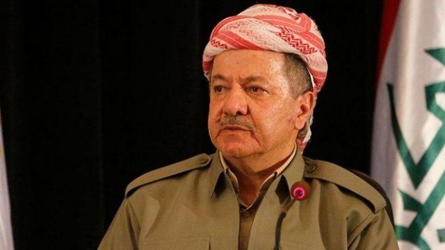 'Diz çöken' Barzani'den ilk açıklama