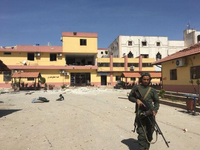 Hainler Afrin'den kaçarken hastaneye bile bomba tuzaklamış