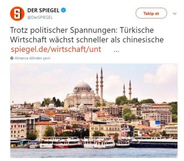 İtiraf gibi çıkış: Türklere hayranız