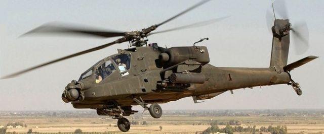 ABD'de askerî helikopter düştü