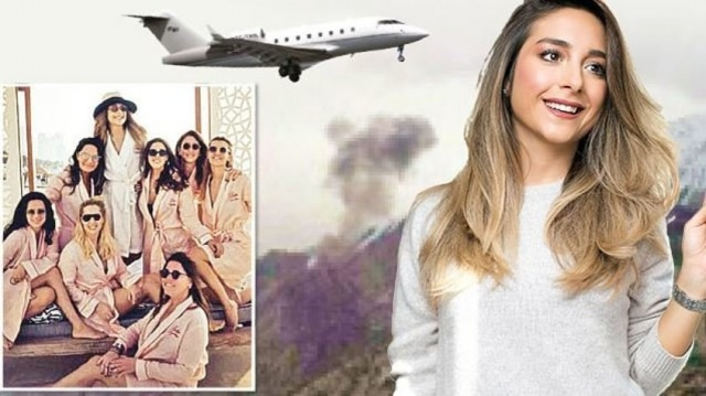 Mina Başaran'ın babası uçağa adını yazdırdı