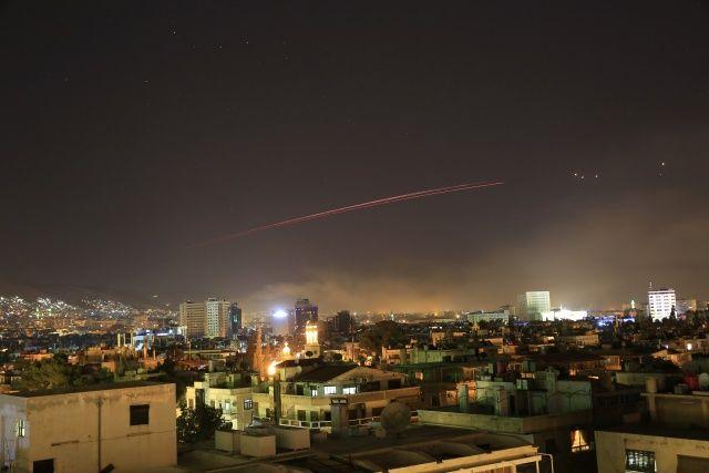 Suriye'de vurulan bölgeler belli oldu