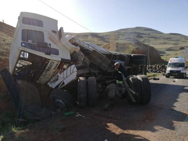 Erzurum'da can pazarı: 2 ölü, 101 yaralı