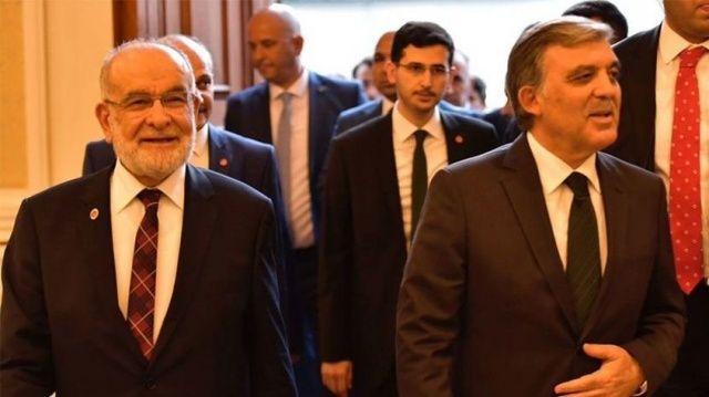 Temel Karamollaoğlu, Abdullah Gül ile görüştü