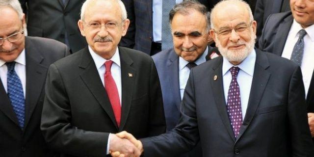 Karamollaoğlu, Akşener'in ardından Kılıçdaroğlu ile görüştü