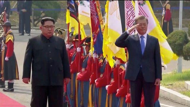 Kuzey Kore ve Güney Kore arasında kritik görüşme!