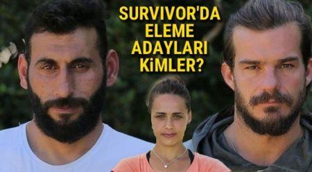 Survivor'da eleme adayları kimler? | Survivor elenen isim belli oldu