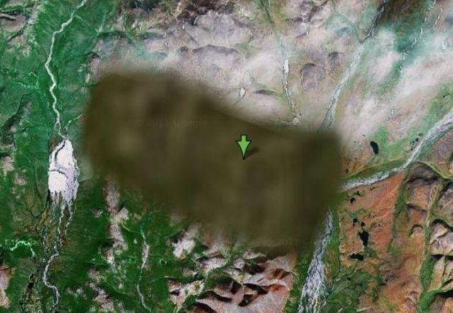 Google Maps'in görüntüleyemediği yerler!