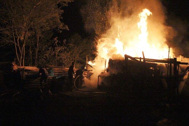Çıkan yangından yayla evi küle döndü