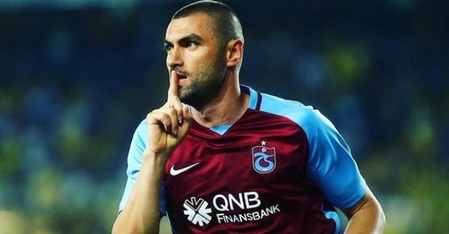 Burak Yılmaz, alacakları için Trabzonspor'u TFF'ye şikayet etti