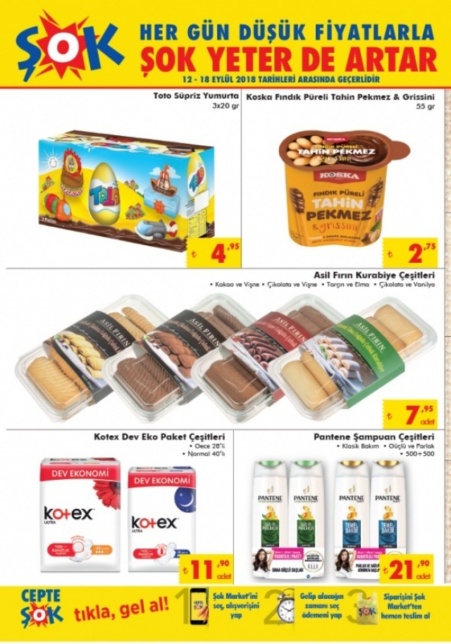 ŞOK 12-18 Eylül aktüel indirimli ürünler listesinde neler var?   12-18 Eylül ŞOK aktüel ürünler kataloğu